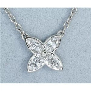 Tiffany & Co. Platinum Victoria Diamond Necklace